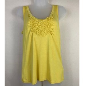 💫Talbots / Yellow Tank Top.